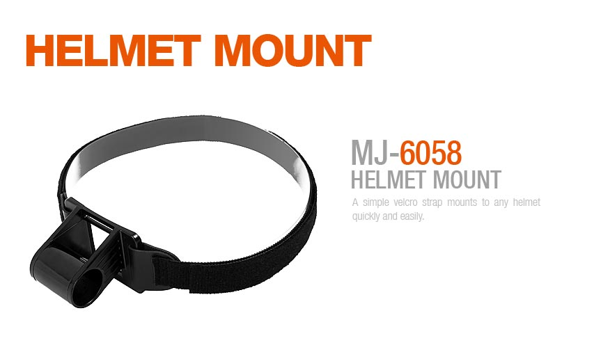 Magicshine MJ-6058 Helmhalterung - 30mm hoch
