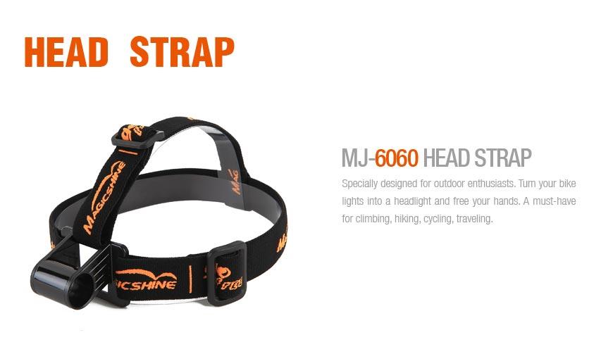 Magicshine MJ-6060 Stirnhalterung - 30mm hoch