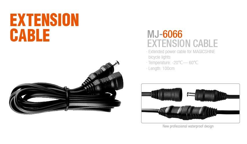 Magicshine MJ-6066 Verlängerungskabel für MJ-880